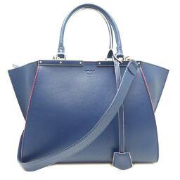 FENDI FENDI 8BH279-81D Trois Heors Leather Women's Handbag DH62136 [Used] AB Rank