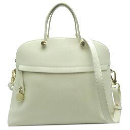 Furla Furla G5999 / S3 Piper L 2Way bag * Key shortage Leather ladies handbag DH62432 [Used] AB rank