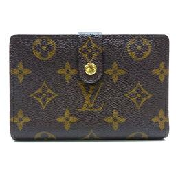 LOUIS VUITTON Louis Vuitton M61663 (Discontinued) Porto Monet Vienois Monogram Canvas Ladies Bi-Fold Wallet DH62454 [Used] A rank