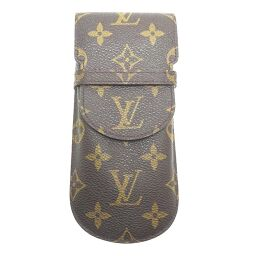 LOUIS VUITTON Louis Vuitton M62970 (Discontinued) Etui Lunette Mule Glasses Case Monogram Canvas Women's Men's Other Accessories DH62532 [Used] AB Rank