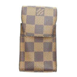 LOUIS VUITTON Louis Vuitton N63024 (Discontinued) Etui Cigarette Damier Canvas Women's Men's Other Accessories DH62533 [Used]