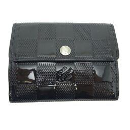 LOUIS VUITTON Louis Vuitton M92134 (Discontinued) Radrow Damier Verni Canvas Women's Men's Coin Case DH62534 [Used]