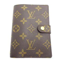 LOUIS VUITTON Louis Vuitton R20005 Agenda PM Monogram Canvas Women's Men's Notebook Cover DH62538 [Used] A rank