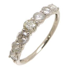 Non Brand Non Brand Pt900 1.00ct Diamond Pt900 Platinum No. 15.5 Ladies / Men's Ring / Ring DH62575 [Used] A rank