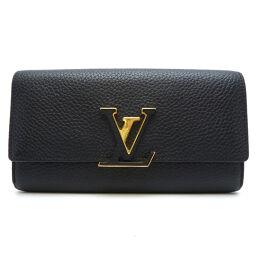 LOUIS VUITTON Louis Vuitton M61248 Portofeuil Capsine Taurillon Clemence Ladies Wallet DH62593 [Used] AB Rank