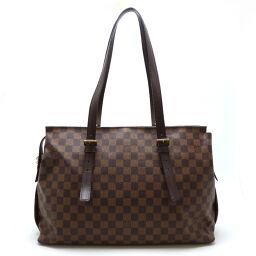 LOUIS VUITTON Louis Vuitton N51119 (Discontinued) Chelsea Damier Canvas Ladies Tote Bag DH62692 [Used] AB Rank