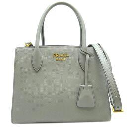 PRADA Prada 1BA284 Saffiano 2Way Bag Saffiano Leather Women's Handbag DH62711 [Used] A rank