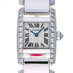 <html>    <body>   CARTIER カルティエ タンキッシム MM サイド ダイヤモンド 750ホワイトゴールド レディース・メンズ 腕時計 DH62717【中古】Aランク        </body> </html>