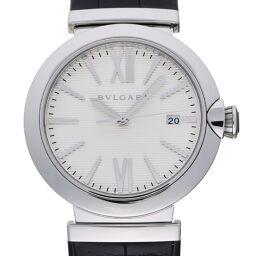 <html>    <body>   BVLGARI ブルガリ LU40C6SLD ルチェア ステンレススチール×レザー メンズ 腕時計 DH62725【中古】Aランク        </body> </html>