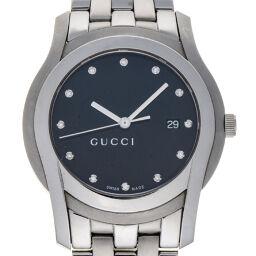 <html>    <body>   GUCCI グッチ YA055213 Gクラス 5500XL 12P ダイヤモンド ステンレススチール メンズ 腕時計 DH62733【中古】ABランク        </body> </html>