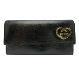 GUCCI Gucci 251861 Lovely bi-fold wallet PVC ladies long wallet DH62836 [Used] A rank