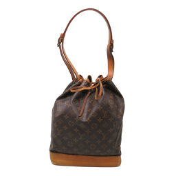 LOUIS VUITTON Louis Vuitton M42224 Noe Monogram Canvas Ladies Shoulder Bag DH62868 [Used] BC Rank