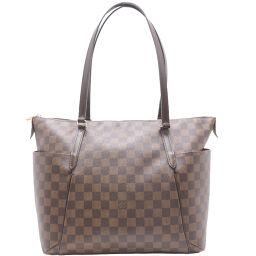 LOUIS VUITTON Louis Vuitton N41281 Totally MM Damier Canvas Ladies Tote Bag DH62891 [Used] A rank