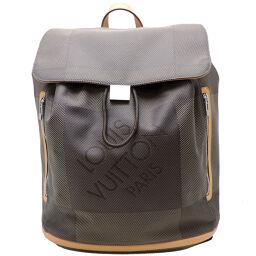 LOUIS VUITTON Louis Vuitton M93055 (discontinued model) Pionier x Damier Jean Ladies Men's Backpack Daypack DH62894 [Used] A rank