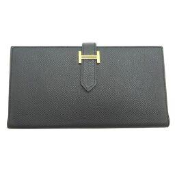HERMES Hermes Bearnsfre C engraved 2018 made Vaux Epson ladies' men's wallet DH62924 [used] AB rank