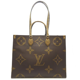 LOUIS VUITTON Louis Vuitton M45320 On The Go GM Monogram Reverse Canvas Ladies Tote Bag DH62945 [Used] A Rank