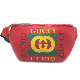 GUCCI Gucci 530412 body bag leather ladies' men's body bag DH62953 [used] A rank