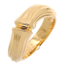 CARTIER Cartier 750YG # 50 Bamboo 750 Yellow Gold No. 10 Ladies Ring / Ring DH62962 [Used] A rank
