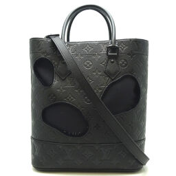 LOUIS VUITTON Louis Vuitton M45887 Bag With Holes PM Rei Kawakubo Limited Collaboration x Grain Cowhide Leather Women's Men's Tote Bag DH62986 [Used] SA Rank