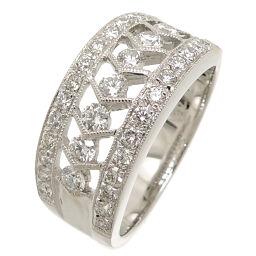 Non Brand ノンブランド 750WG 0.76ct ダイヤモンド 750ホワイトゴールド 12.5号 レディース リング・指輪 DH63008【中古】Aランク