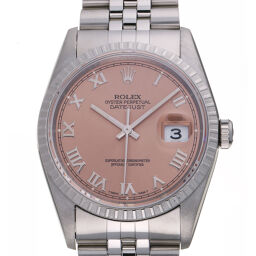 ROLEX Rolex 16220 Datejust W No. 1994 Stainless Steel Men's Watch DH63031 [Used] A rank
