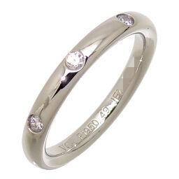 <html>    <body>   Van Cleef &amp; Arpels ヴァンクリーフ&アーペル Pt950 #49 アンフィニ エトワール 3P ダイヤモンド Pt950プラチナ 9号 レディース リング・指輪 DH63160【中古】Aランク        </body> </html>