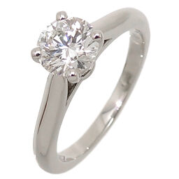 CARTIER Cartier Pt950 # 50 0.80ct Solitaire Diamond Pt950 Platinum No. 10 Ladies Ring / Ring DH63375 [Used] A rank