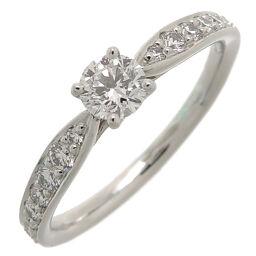 TIFFANY & Co. Tiffany Pt950 0.21ct Harmony Circle Diamond Pt950 Platinum No. 9 Ladies Ring / Ring DH63538 [Used] A rank