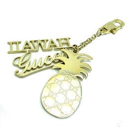 GUCCI Gucci Hawaii Pineapple Charm Metal Women's Men's Keychain DH63612 [Used] AB Rank