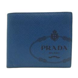 <html>    <body>   PRADA プラダ 2M0513 サフィアーノレザー 二つ折り財布 サフィアーノ レザー メンズ 二つ折り財布 DH63656【中古】ABランク        </body> </html>