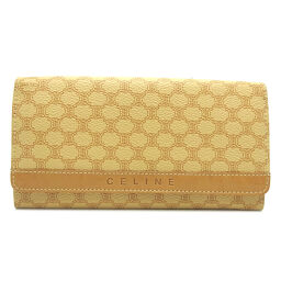 CELINE Celine Macadam Pattern Purse PVC x Leather Ladies Purse DH63662 [Used] A rank