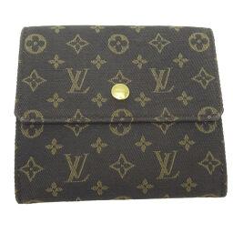 LOUIS VUITTON Louis Vuitton M95233 (Discontinued) Portofeuil Elise Monogram Mini Run Ladies Bi-Fold Wallet DH63712 [Used] AB Rank