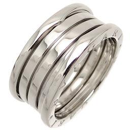 BVLGARI Bvlgari 750WG # 63 B-zero1 B Zero One 3 Band 750 White Gold No. 21.5 Men's Ring / Ring DH64160 [Used] A rank