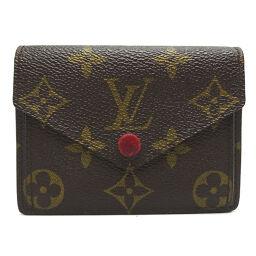 LOUIS VUITTON Louis Vuitton M93802 Monogram Portofeuil Marie Monogram Canvas Ladies Card Case DH64214 [Used]