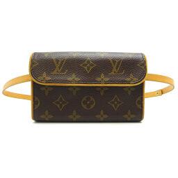 LOUIS VUITTON Louis Vuitton M51855 (Discontinued) Monogram Pochette Florantine Monogram Canvas Ladies Waist Bag DH64215 [Used]