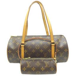 LOUIS VUITTON Louis Vuitton M51385 (discontinued) Papillon 30 * Monogram canvas ladies handbag with pouch DH64239 [Used] AB rank