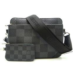 LOUIS VUITTON Louis Vuitton N50017 Trio Messenger Damier Graffit Canvas Men's Shoulder Bag DH64311 [Used] SA Rank