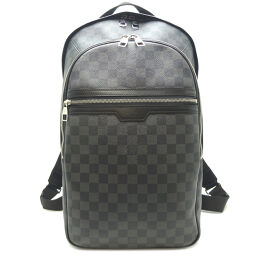 LOUIS VUITTON Louis Vuitton N58024 Michael Damier Graffiti Canvas Men's Backpack Daypack DH64312 [Used] A rank