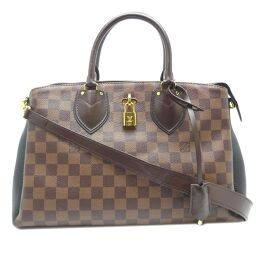 LOUIS VUITTON Louis Vuitton N41487 (discontinued) Normandy Damier Canvas Ladies Handbag DH64363 [Used] A rank
