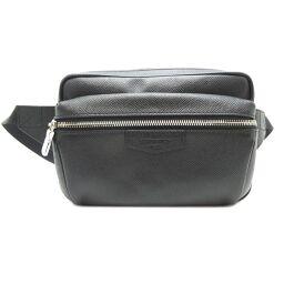 LOUIS VUITTON Louis Vuitton M33438 Bum Bag Outdoor Taiga Ladies Waist Bag DH64366 [Used] A rank
