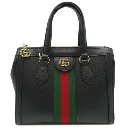 GUCCI Gucci 547551 Offidia GG Small Tote Bag * Strap shortage Leather Ladies Handbag DH64370 [Used] A rank