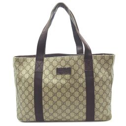 GUCCI Gucci 141624 Tote Bag PVC x Leather Women's Shoulder Bag DH64372 [Used]