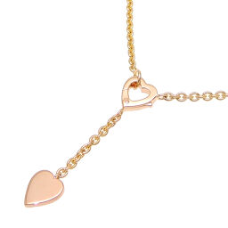 CARTIER Cartier 750YG Monamour 750 Yellow Gold Women's Necklace DH64407 [Used] A rank