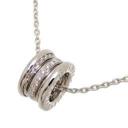 BVLGARI Bvlgari 750WG B-zero1 B-zero One Diamond 750 White Gold Ladies Necklace DH64408 [Used] A rank