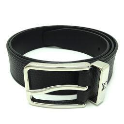 LOUIS VUITTON Louis Vuitton M6065S Saint Tulle Pont Neuf 35MM # 90/36 × Taurillon Calf Leather Men's Belt DH64424 [Used] AB Rank