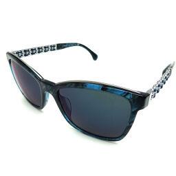 CHANEL 5360-QA Sunglasses Metal x Plastic x Leather Women's Sunglasses DH64427 [Used] A rank