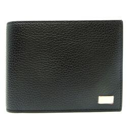 Dunhill ダンヒル レザー メンズ 二つ折り財布 DH64432【中古】Aランク