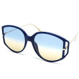 Christian Dior Christian Dior PJP84 Direction Plastic x Metal Women's Men's Sunglasses DH64550 [Used] A rank