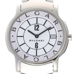 BVLGARI Bvlgari ST35S Solo Tempo Stainless Steel Men's Watch DH65037 [Used] A rank