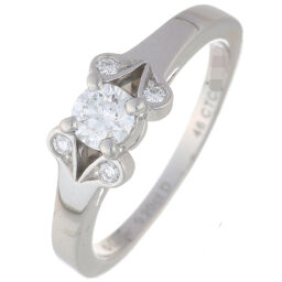CARTIER Cartier N42030300 Ballerina 0.20ct Diamond # 46 Pt950 Platinum No. 6 Ladies Ring / Ring DH65075 [Used] A rank
